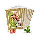 Lizza Low-Carb Pizza-Teig aus Lein-Samen und Chia-Samen. Bio. Gluten-Frei. Vegan. (8 x 180g)